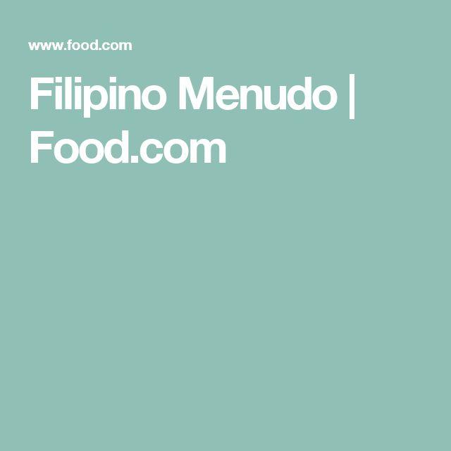 Filipino Menudo   Food.com