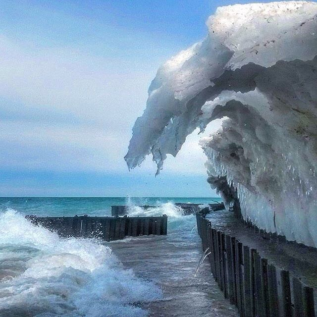 We Love This Frozen Shot From Frankfort Shared By Instagrammer