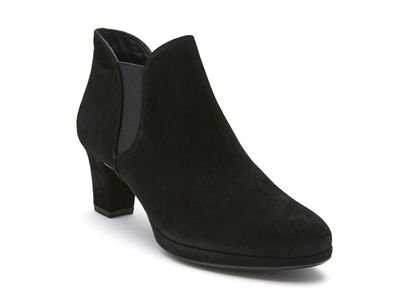 Our most comfortable ankle boot in a rich suede and concelaed platform  Hugo Sheppard and Co - by Peter Sheppard Footwear