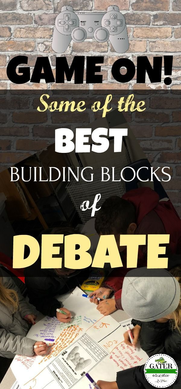 """This interactive debate lesson plan is filled with mini-lessons and exercises to prepare elementary students for persuasive speaking and debate. Your 4th, 5th and 6th grade students will engage in lively discussion of age appropriate debate topics. Debate tips and vocabulary are included as well as an easy prep bulletin board idea. Bonus """"freebie"""" letters that spell out """"DEBATE, GAME ON!"""" are included as well. Check it out!"""