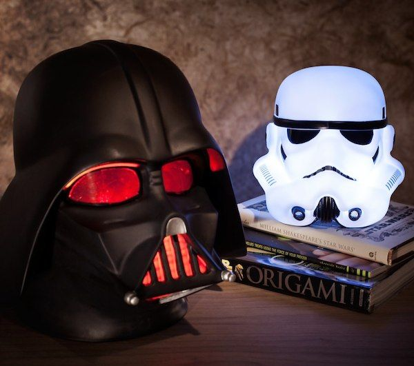 Star Wars Mood Lights / These Star Wars Mood Lights will create just the ambience you need when you're crossing over from the land of the living room to the dark side of your bedroom. http://thegadgetflow.com/portfolio/star-wars-mood-lights/