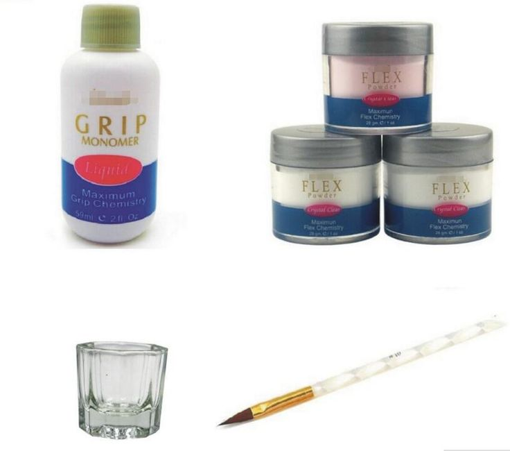 BEMLP powder uv gel powder IBD GRIP MONOMER LIQUID set high quality nail gel powder nail tools crystal