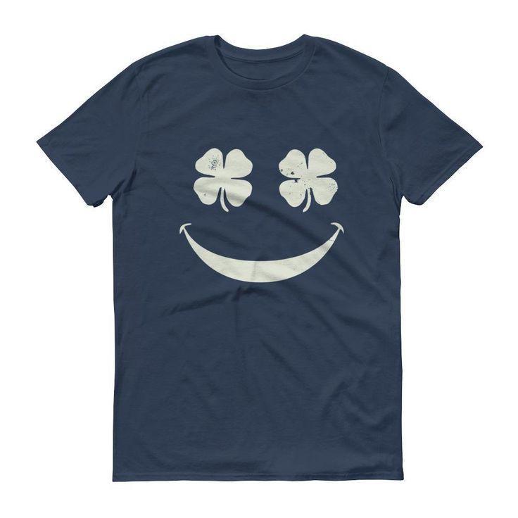 ☘ Shamrock Emoji Shirt - Men's St Patrick's Day t-shirt