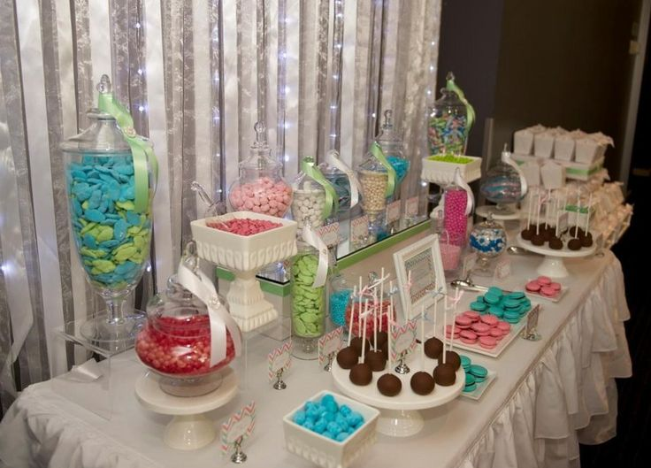 Pastel Dessert Buffet for a gorgeous wedding by Ribbon Whirls at the Lion Hotel North Adelaide - Ribbon Whirls, Party & Event Planning, Norwood, SA, 5067 - TrueLocal