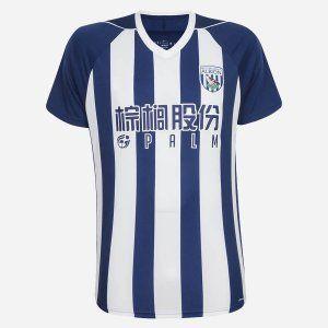 West Bromwich Albion FC 2017-18 Season Home WBA Shirt [K640]