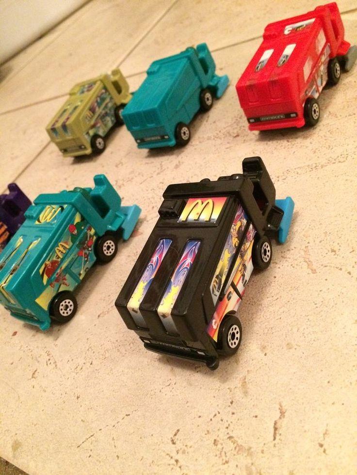 Lot Of 6 #RARE McDonalds Zamboni #Toy Cars | eBay #Canada #Deals #Bargains
