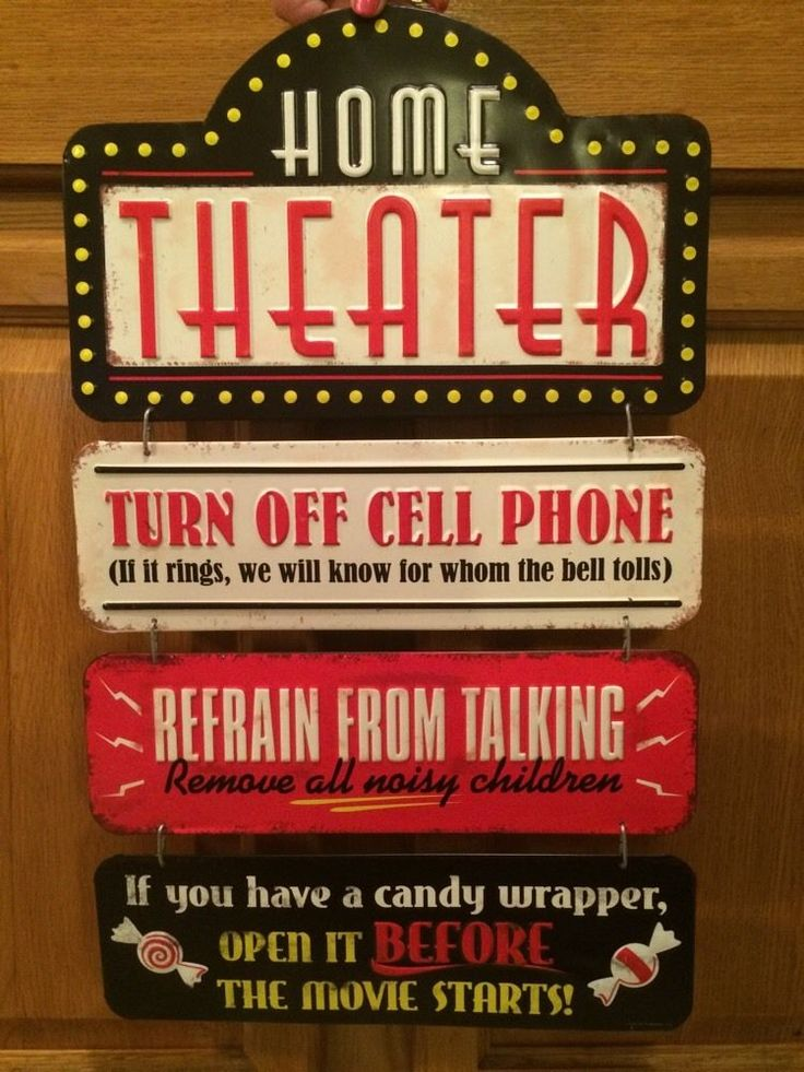 Home Theater Lobby Drive In Cinema Popcorn Stand Poster Movies Cell Phone Movie