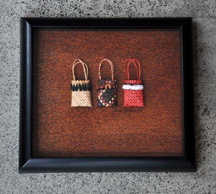 Maori Art + Design - Kura Gallery - Auckland & Wellington NZ » Weaving