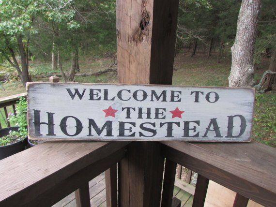 Primitive Rustic Signs Welcome Signs Primitive Home Decor Hand Painted Signs Wood Signs