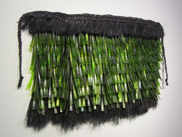 Te Rongo Kirkwood, Artist, fused glass and fiber, via Flickr. #fusedglass #fiber #PurelyInspiration