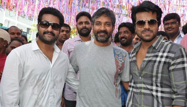 There is a great hype and hoopla surrounding the crazy project unveiled by ace director SS Rajamouli. Rajamouli's next will have a story penned by father Vijayendra Prasad, while two big heroes – NTR and Cherry are going to play the lead roles.