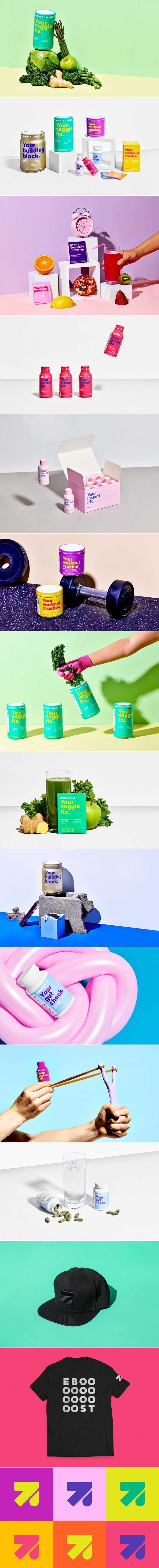 "Get a ""Boost"" With These Colorful Protein Products — The Dieline 