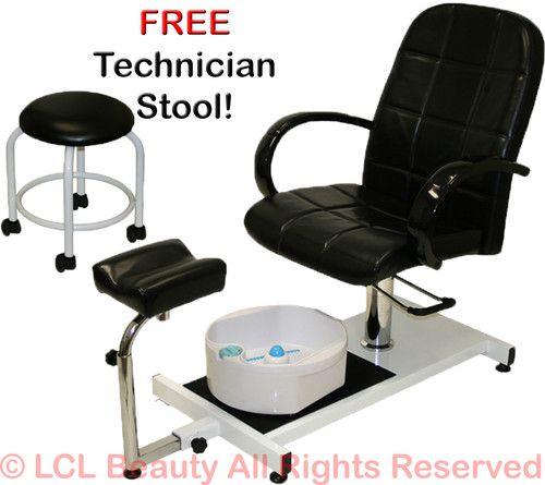 Pedicure Unit Station Hydraulic Chair Massage Foot Spa Beauty Salon Equipment | eBay