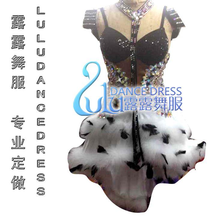 Танго сальса самба танец платье, Lulu-2009 латинский танец Lulu-2003