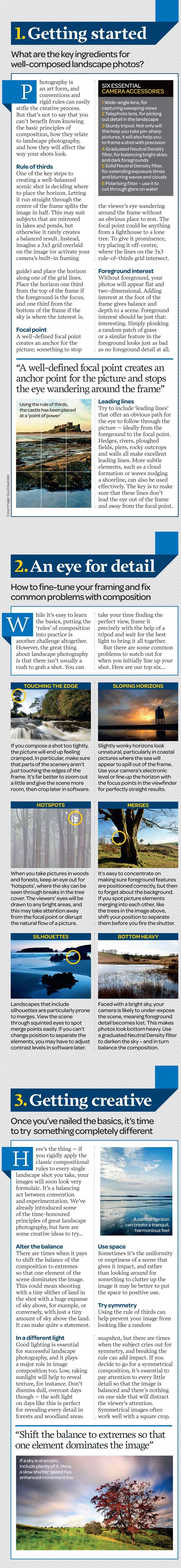 Landscape photography from idea to execution: free photography cheat sheet | Digital Camera World