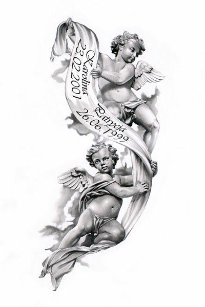 angels tattoos for girls| angels wings tattoo designs| kneeling angel ...