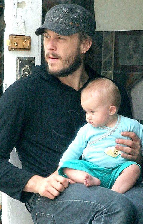 Heath Ledger and daughter Matilda