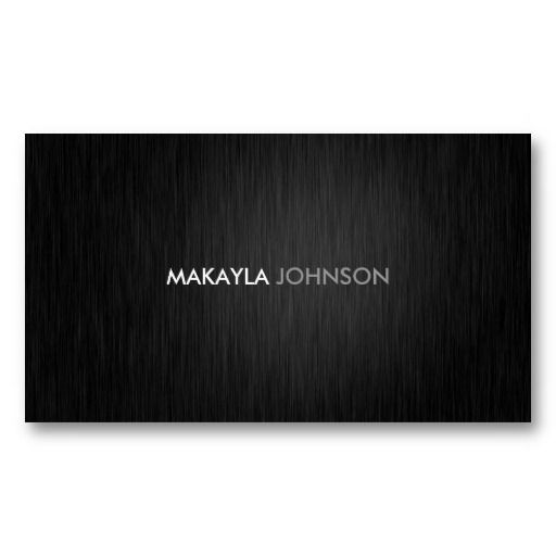 21 best black business cards with silver writing images on pinterest modern and minimal professional business cards colourmoves