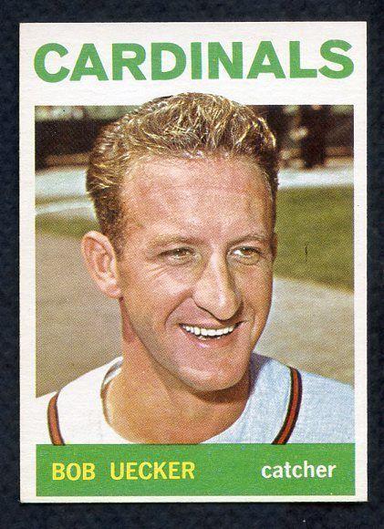 1964 TOPPS #543 BOB UECKER CARDINALS NR-MT SET BREAK 329189 (KYCARDS)