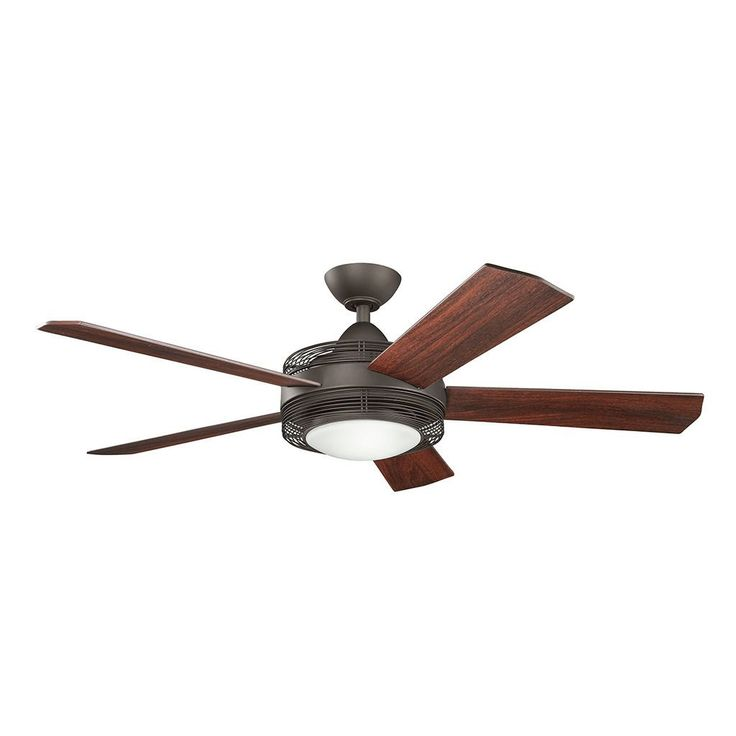 Kichler Lighting Enthrall Collection 60-inch Satin LED Ceiling Fan