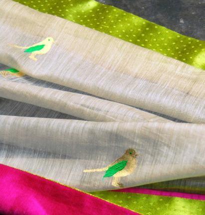 Chanderi-- Raw mango