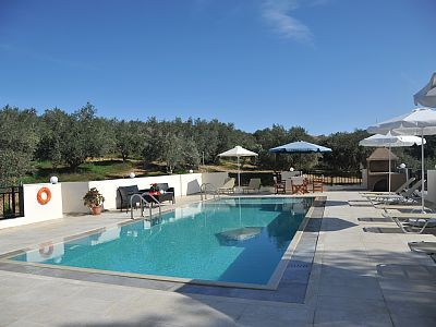 Rethymno villa rental - Villa Maria-45 m2 private swimming pool!