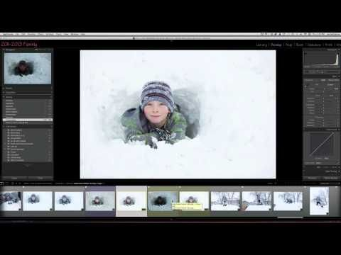How to Create Multiple Exposures to Fix Blown Out Backgrounds. Step-by-step video