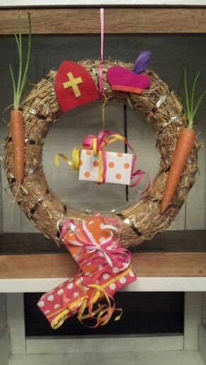 Sinterklaas decoratie