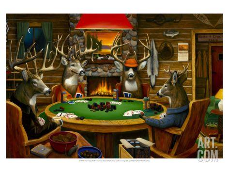 Texas Hold Em Deer Camp