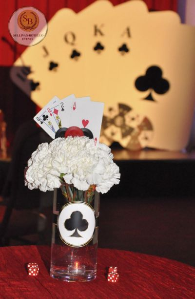 40th Birthday Ideas >> 17 Best ideas about Casino Themed Centerpieces on Pinterest | Casino party, Casino night and ...