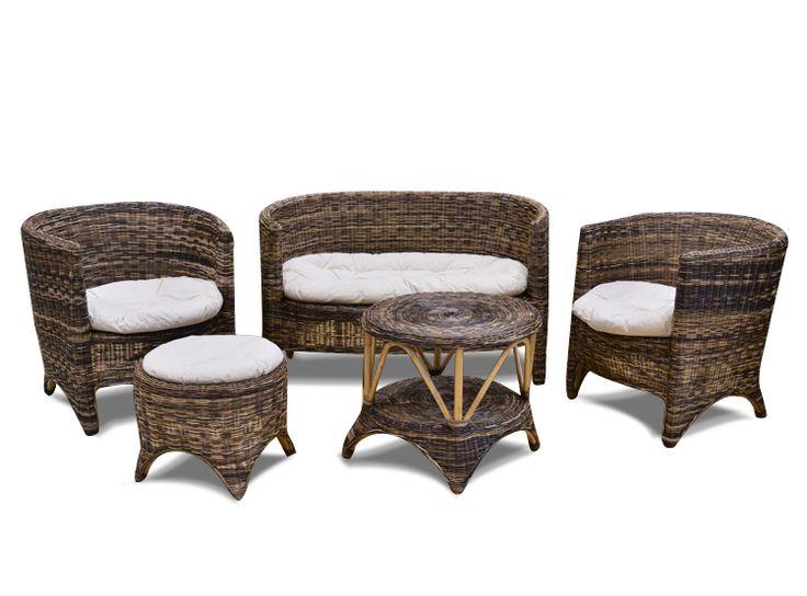 Juego De Terraza En Fibra Para Terraza Techada Habitacion De Invitados Muebles Mobiliario