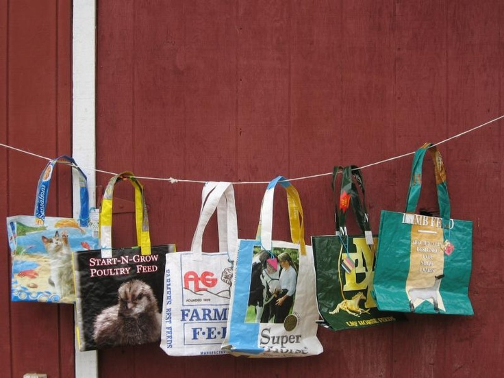 1000 Images About Recycled Feed Sacks On Pinterest