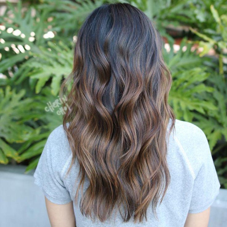 """892 """"Μου αρέσει!"""", 6 σχόλια - Cherin Choi (@mizzchoi) στο Instagram: """"Cooler light brown highlights. #brunette #brunettehair #hair #haircolor #color by #mizzchoi cut…"""""""