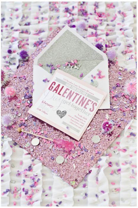 59195a9d19b6194b1f4b9bcdf1d46252 event invitations glitter invitations - Joseph Laurin via The Beauty Pin