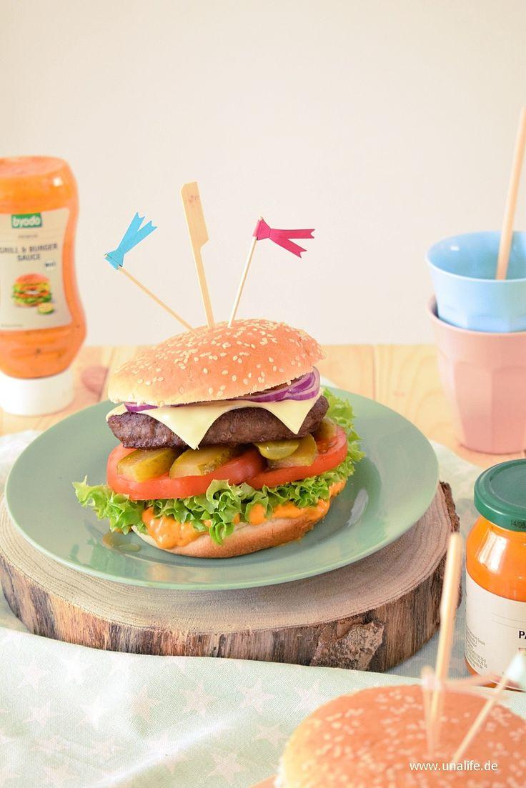 Burger mit Byodo