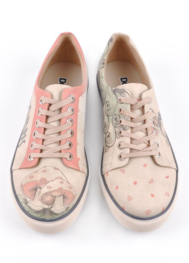 Dogo Store - Shoes  Ms. Dogo  Sneakers  Mushroom