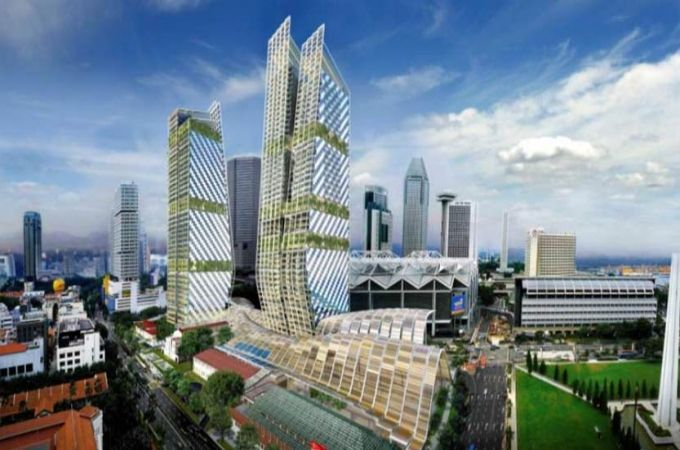 South Beach Developed by a joint venture between CDL and the IOI Group, South Beach is located next to Esplanade MRT and between Raffles Pla...