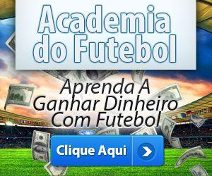 Academia de Futebol, banner de promoção do curso de trading