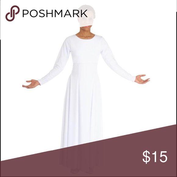 Body Wrappers Scoopneck Dancewear Dress Scoopneck dress | Longsleeve dress | dancewear | liturgical | spiritual dance Body Wrappers Dresses