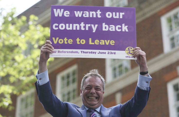 UKIP leader Nigel Farage confident of Brexit as he launches new poster