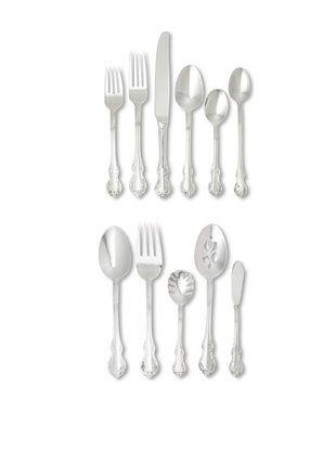 65% OFF Towle 55-Piece Mia Flatware Set, Silver