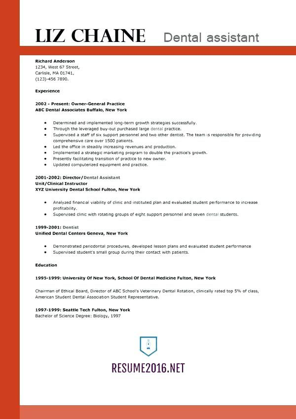 New Millennium English Resume - Vision specialist