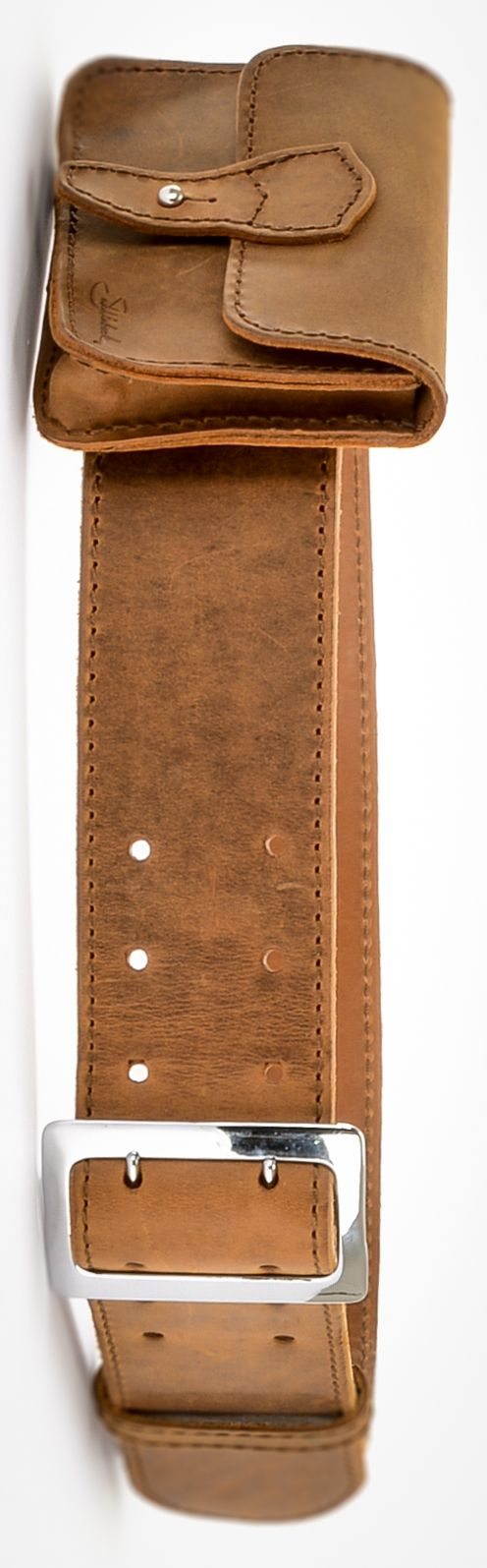 The Saddleback Leather Belt for Women in Tobacco | 100 Year Warranty | $74.00