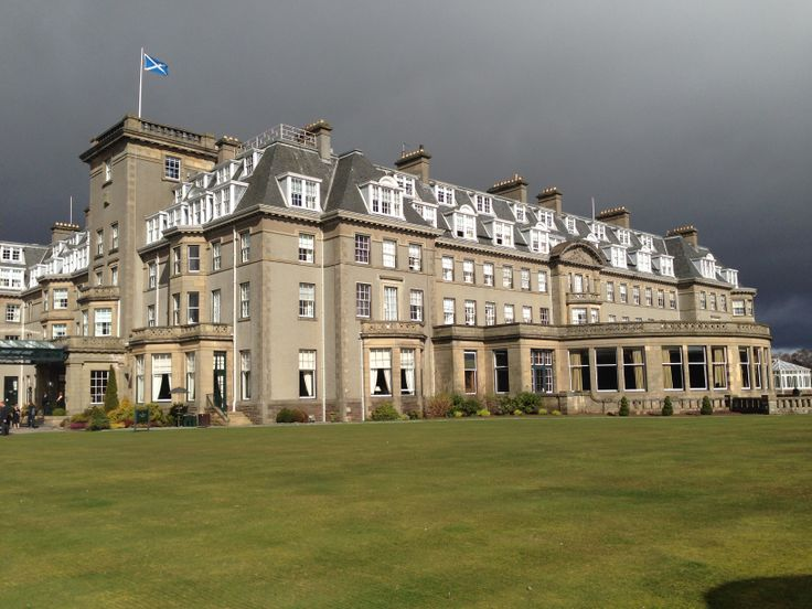 The amazing and unique Gleneagles in Scotland - home to the Ryder Cup 2014!