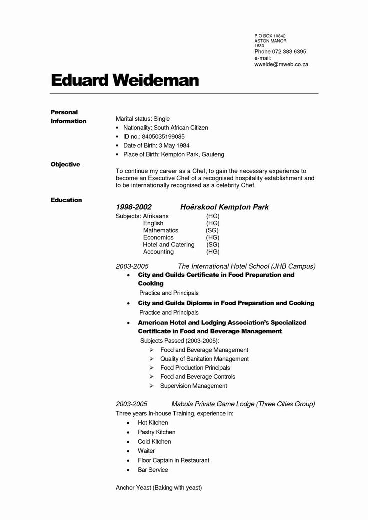 25 totally Free Resume Template in 2020 Resume template free