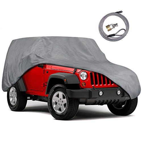 Motor Trend Outdoor Car Cover for Jeep Wrangler 2 Door - All Weather Protection SUV Waterproof Cover - http://www.caraccessoriesonlinemarket.com/motor-trend-outdoor-car-cover-for-jeep-wrangler-2-door-all-weather-protection-suv-waterproof-cover/  #Cover, #Door, #Jeep, #Motor, #Outdoor, #Protection, #Trend, #WaterProof, #Weather, #Wrangler #Car-Covers, #Exterior