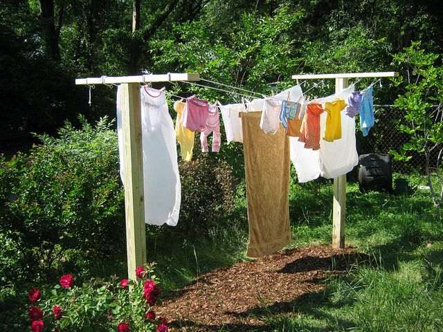 Clothes Line 2010 by bmitd67, via Flickr