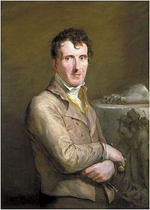"""Antonio Canova"" (1817) George Hayter. British Embassy, Paris, France."