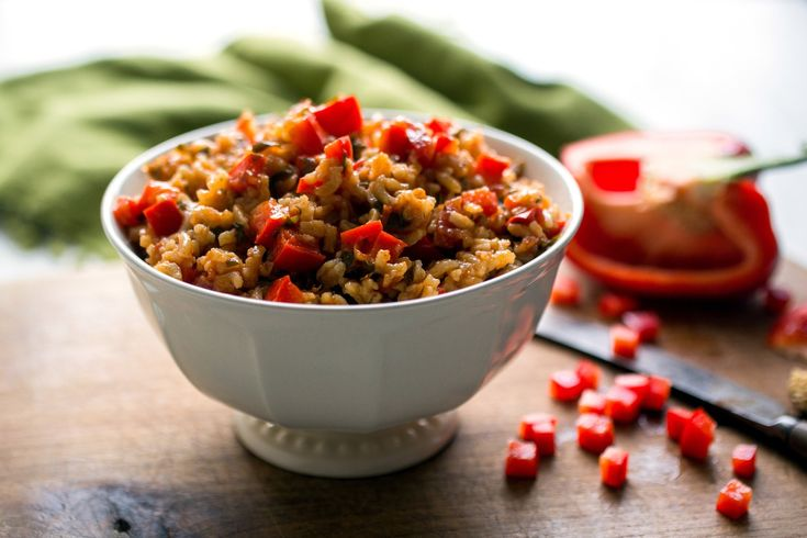 Red Pepper Rice, Bulgur or Freekeh With Saffron and Chile Recipe - NYT Cooking