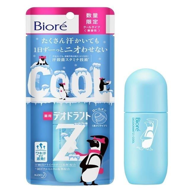�ล�าร���หารู��า�สำหรั� Biore Deodorant Z Cool Roll On 40 ml.